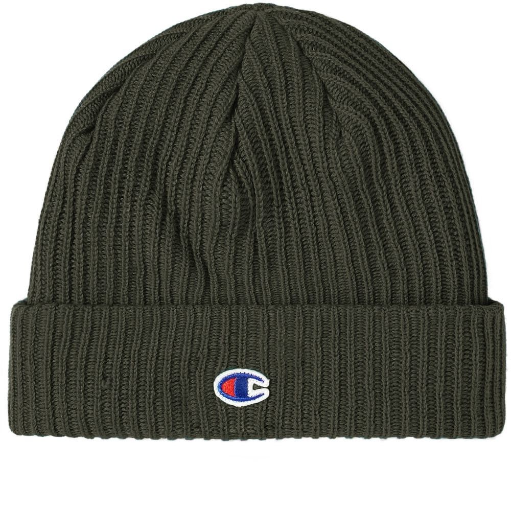 Photo: Champion Reverse Weave Logo Beanie