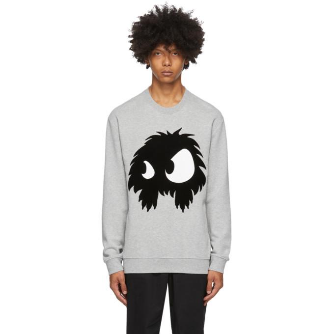 Photo: McQ Alexander McQueen Grey Chester Monster Sweatshirt