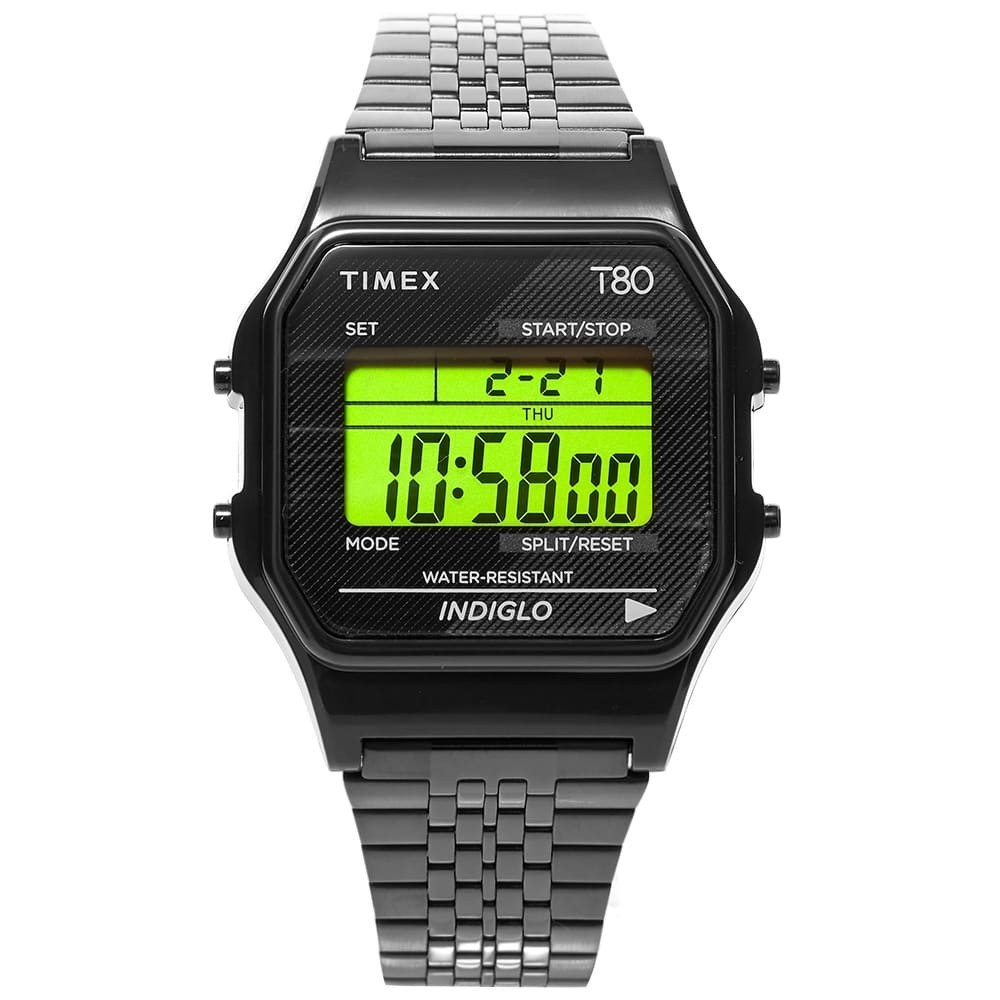Photo: Timex Archive Timex T80 Digital Watch