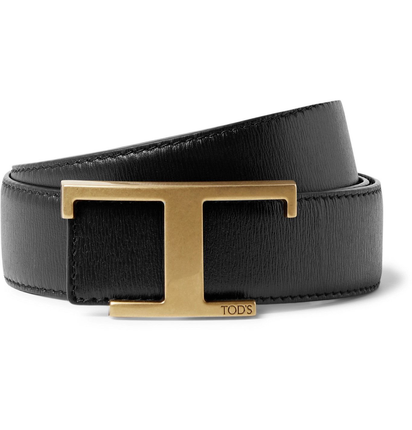 Photo: Tod's - 3.5cm Reversible Leather Belt - Black