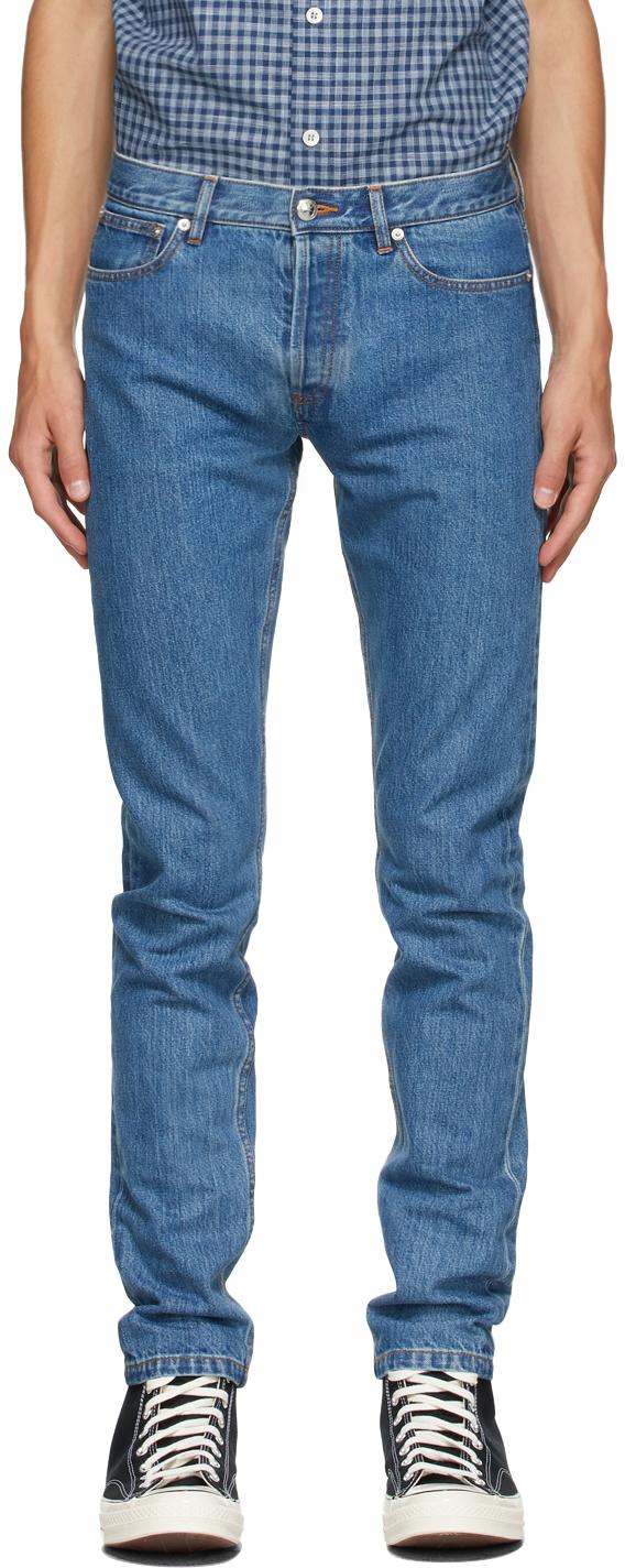 Photo: A.P.C. Blue Petit New Standard Jeans
