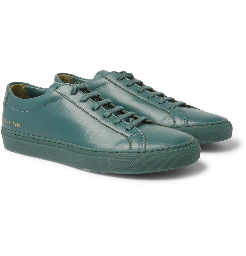 Common Projects - Original Achilles Leather Sneakers - Green