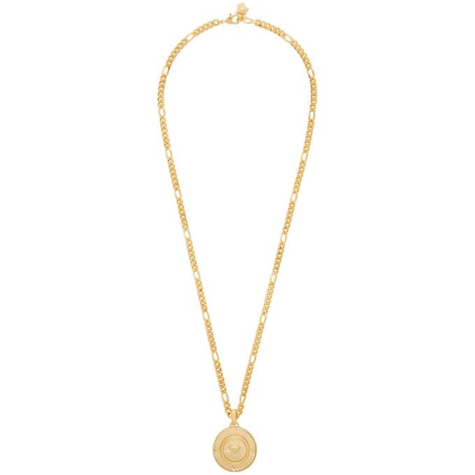Photo: Versace Gold Medusa Pendant Necklace