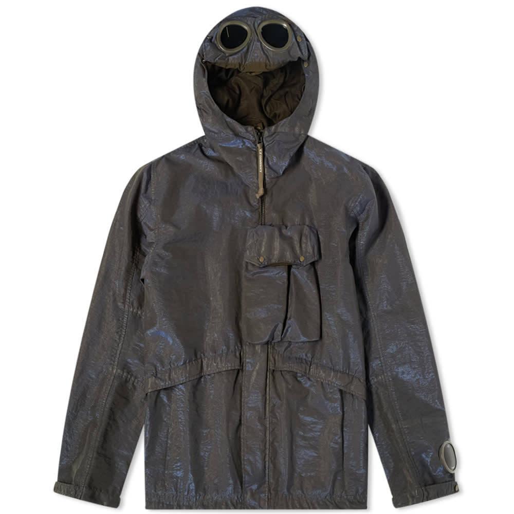 Photo: C.P. Company Prism Garment Dyed Goggle Jacket