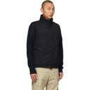 Stone Island Reversible Black Insulated Ghost Piece Vest