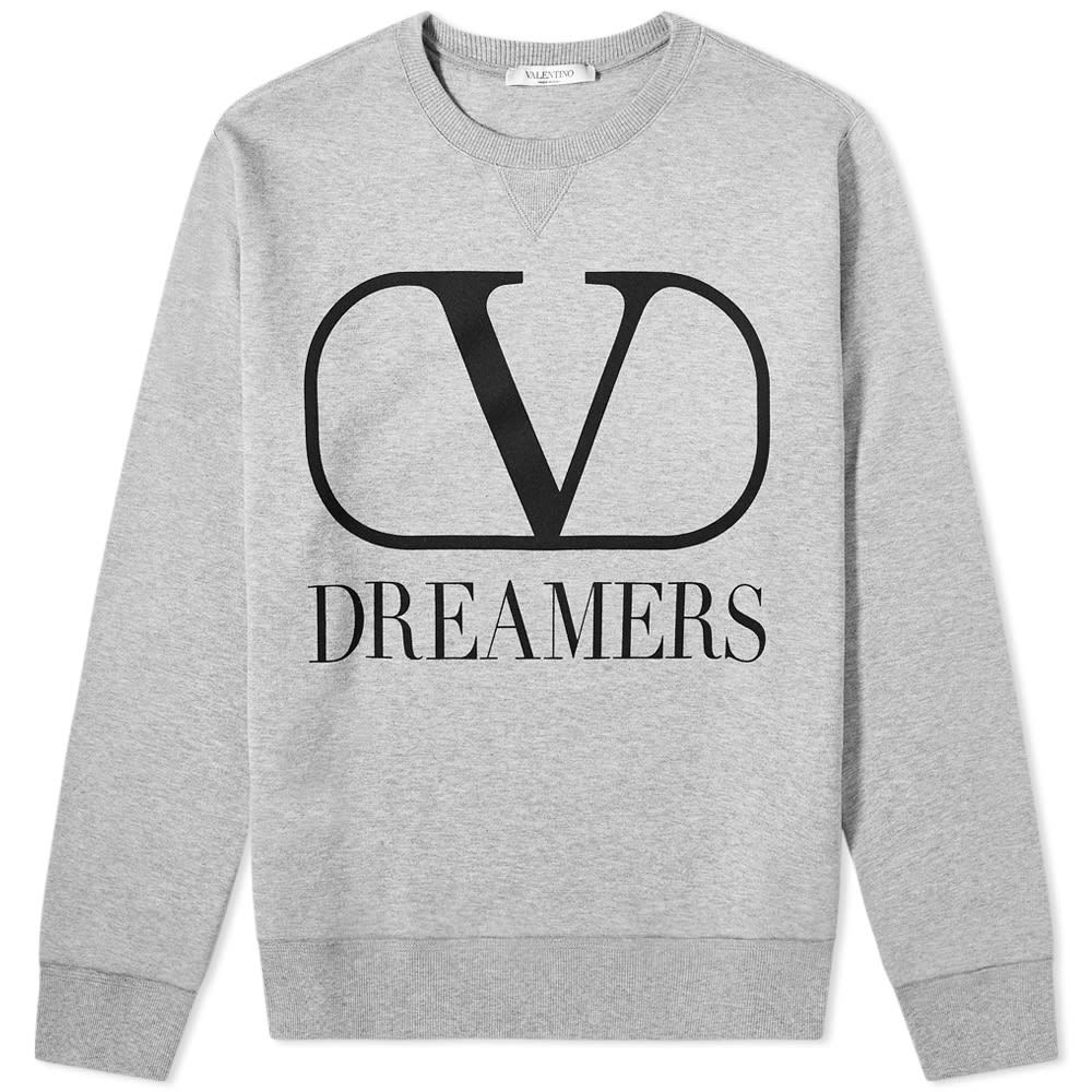 Photo: Valentino V Dreamers Logo Crew Sweat
