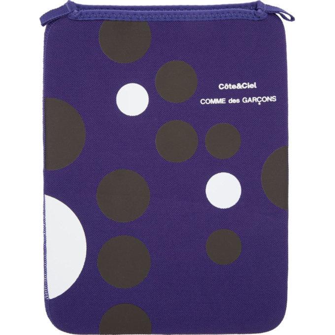 Photo: Comme des Garcons Wallets Ultramarine CoteandCiel Edition iPad Sleeve