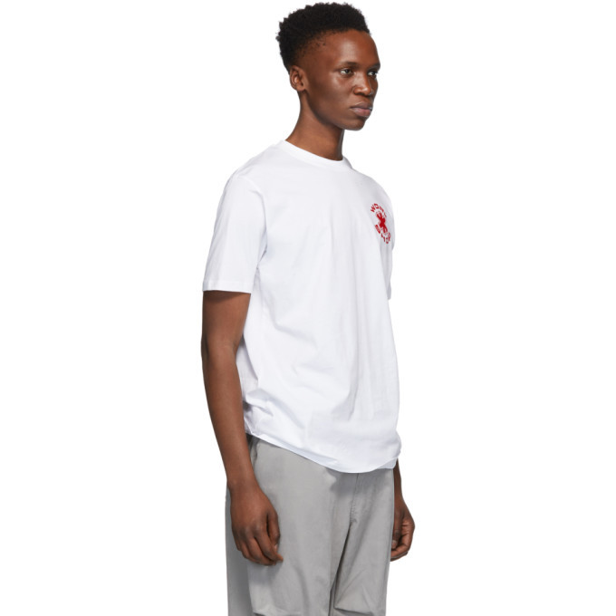 032c White Cosmic Workshop Logo T-Shirt
