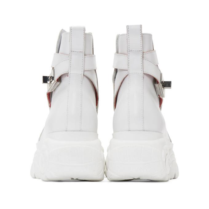 032c White Buffalo London Edition Jodphur Boots