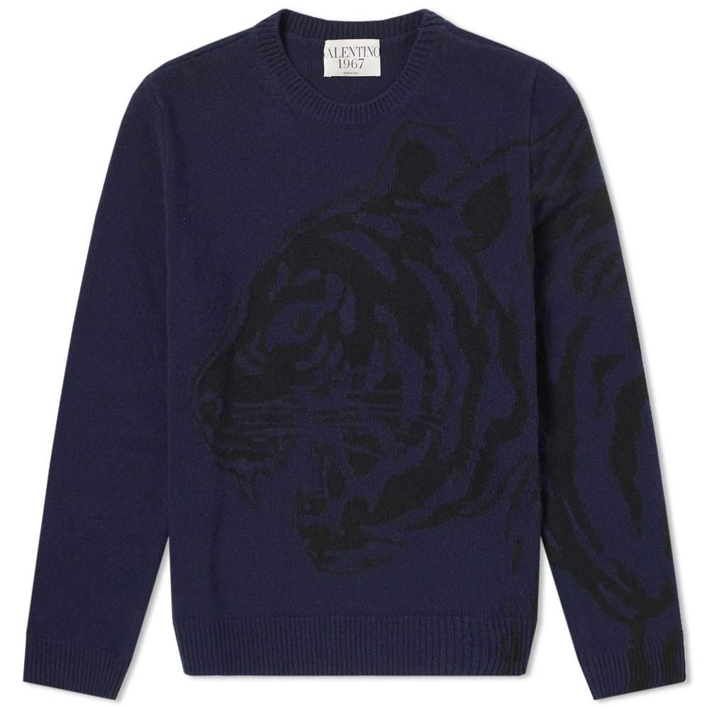 Photo: Valentino Tiger Intarsia Wool Knit