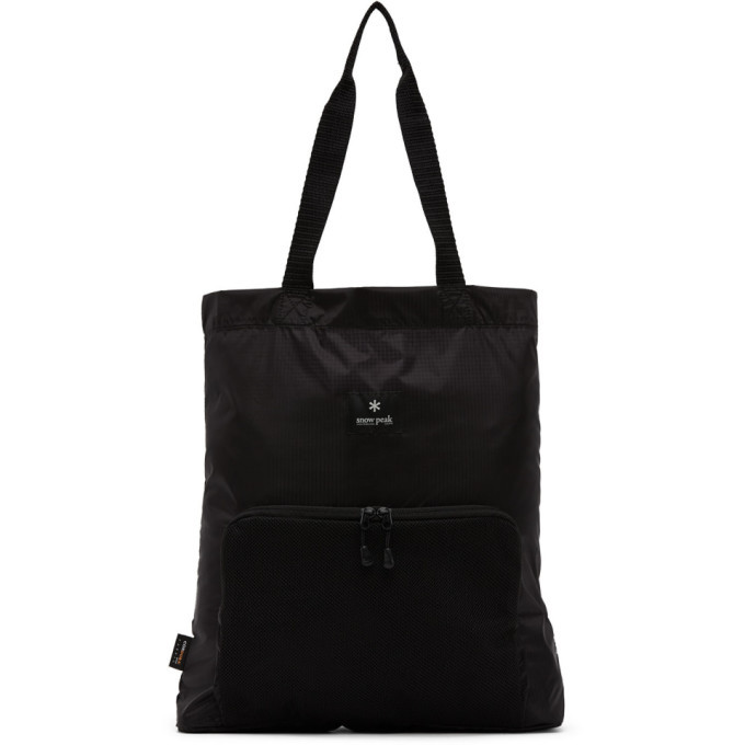 Photo: Snow Peak Black Type 01 Packable Tote