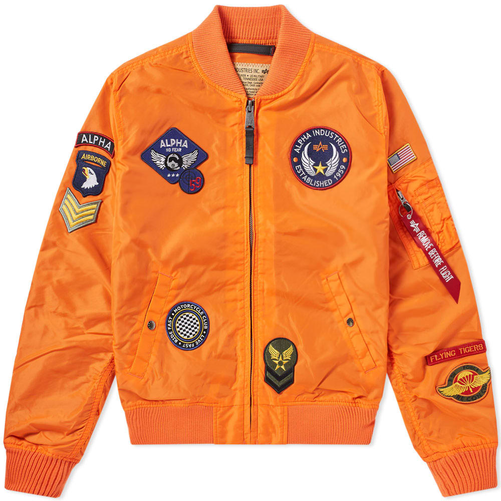 Photo: Alpha Industries MA-1 TT Patch II Jacket