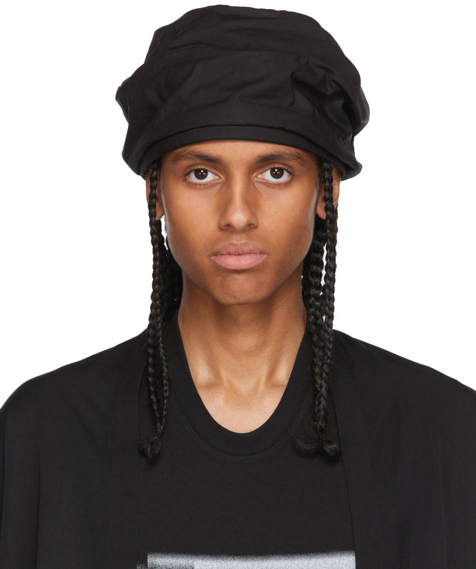 Photo: Julius Black Drape Cap