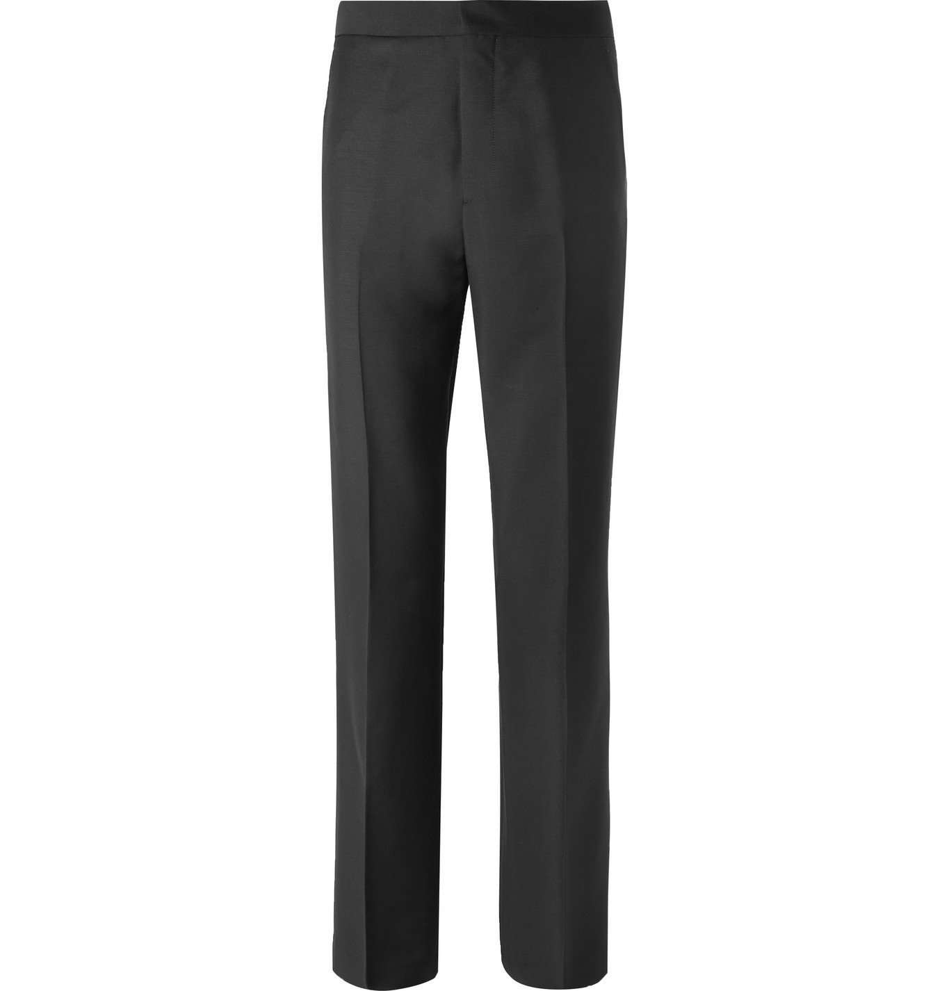 Photo: Acne Studios - Wool and Mohair-Blend Suit Trousers - Black