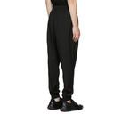 3.1 Phillip Lim Black Wool Cropped Lounge Pants