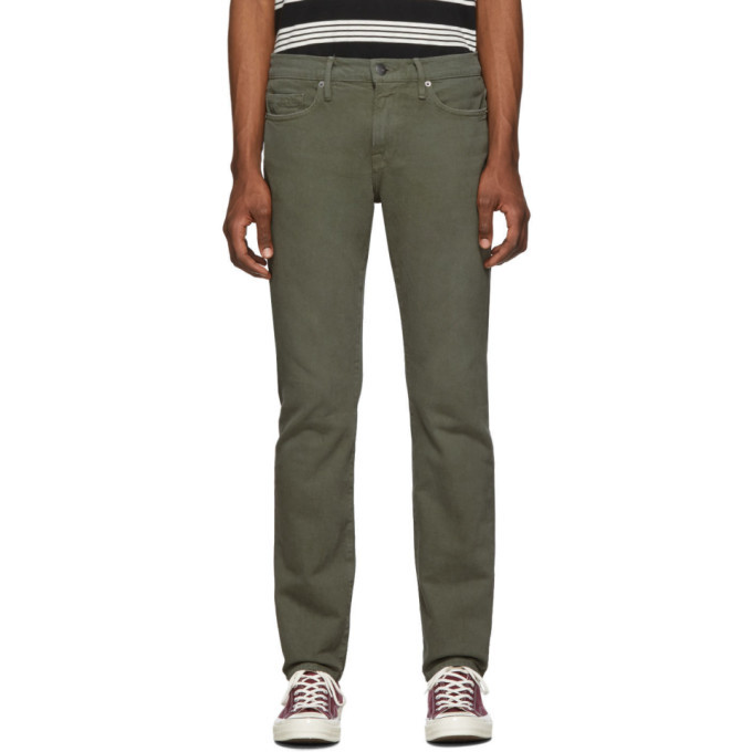 Photo: Frame Green LHomme Slim Jeans