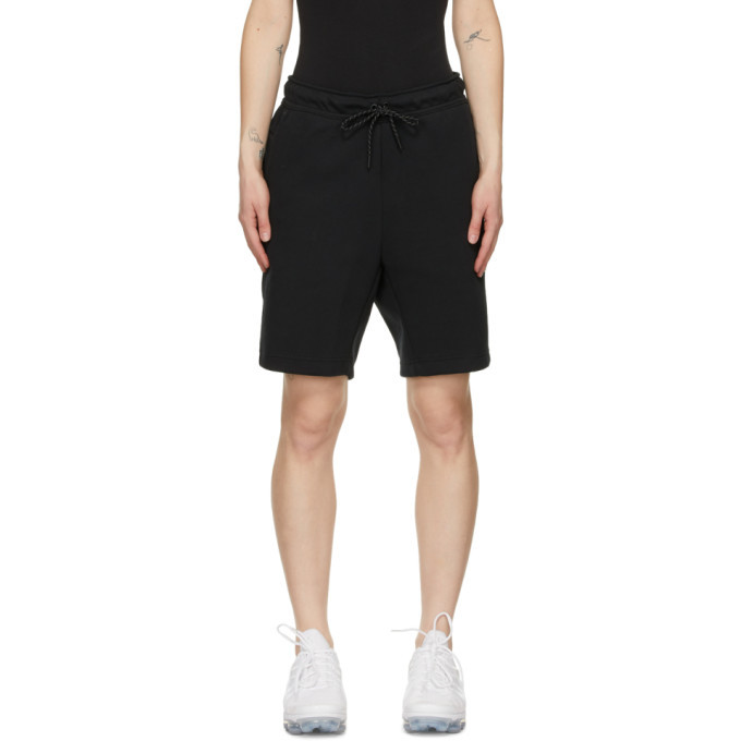 Photo: Nike Black Tech Fleece Shorts