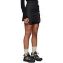 1017 ALYX 9SM Black Buckles Miniskirt