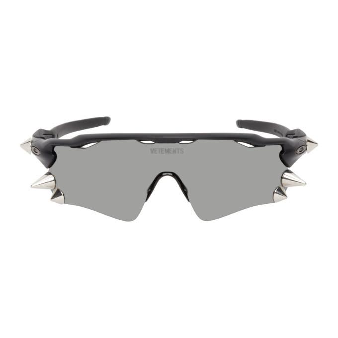 Photo: VETEMENTS Black Oakley Edition Spikes 200 Sunglasses