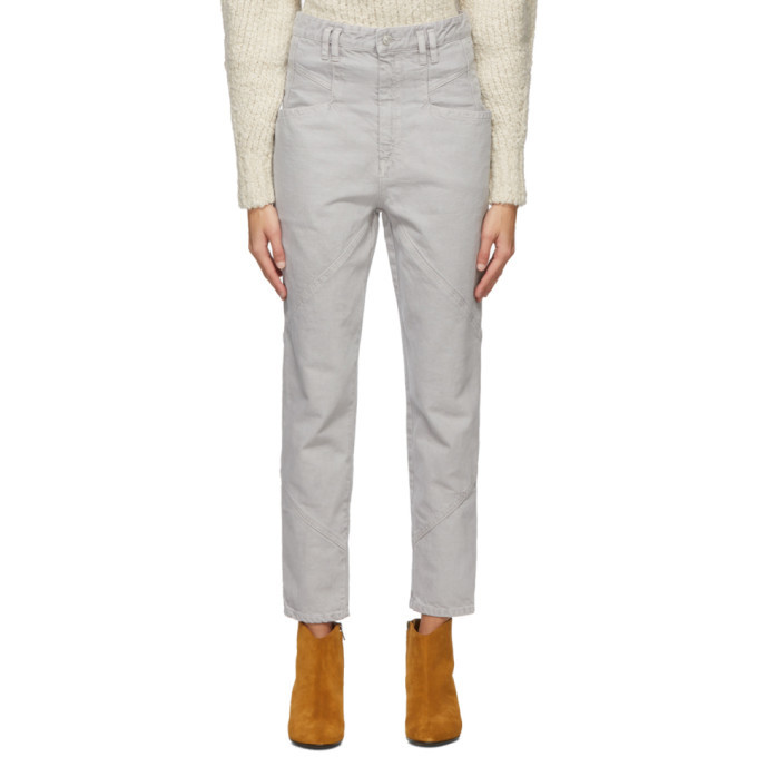Photo: Isabel Marant Grey Nadeloisa Jeans