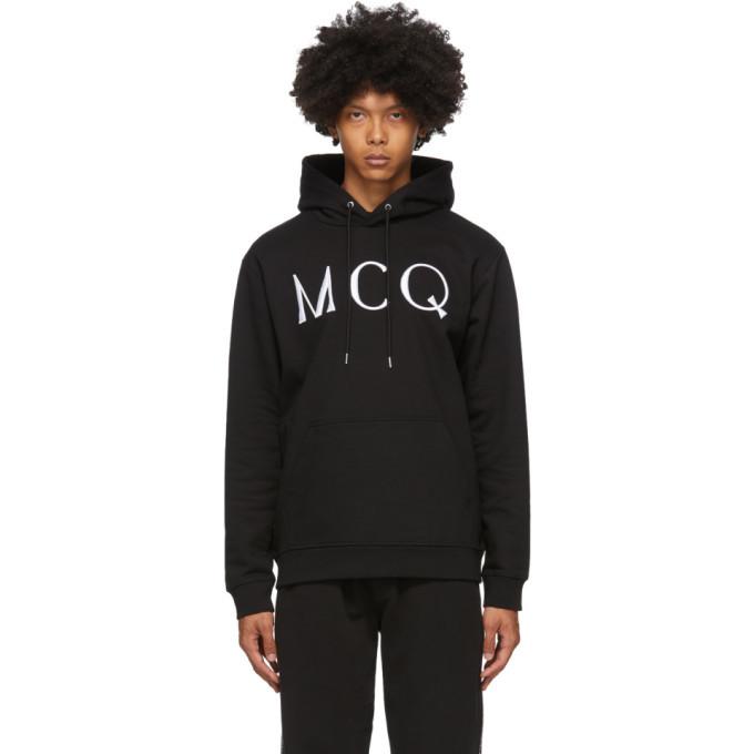 Photo: McQ Alexander McQueen Black Logo Hoodie