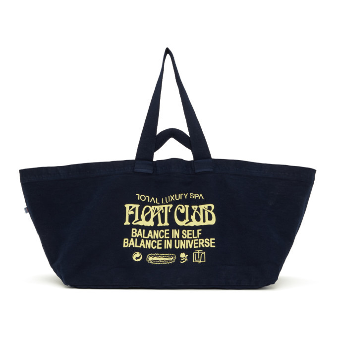 Photo: Total Luxury Spa Navy Oversized Spa Float Club Tote