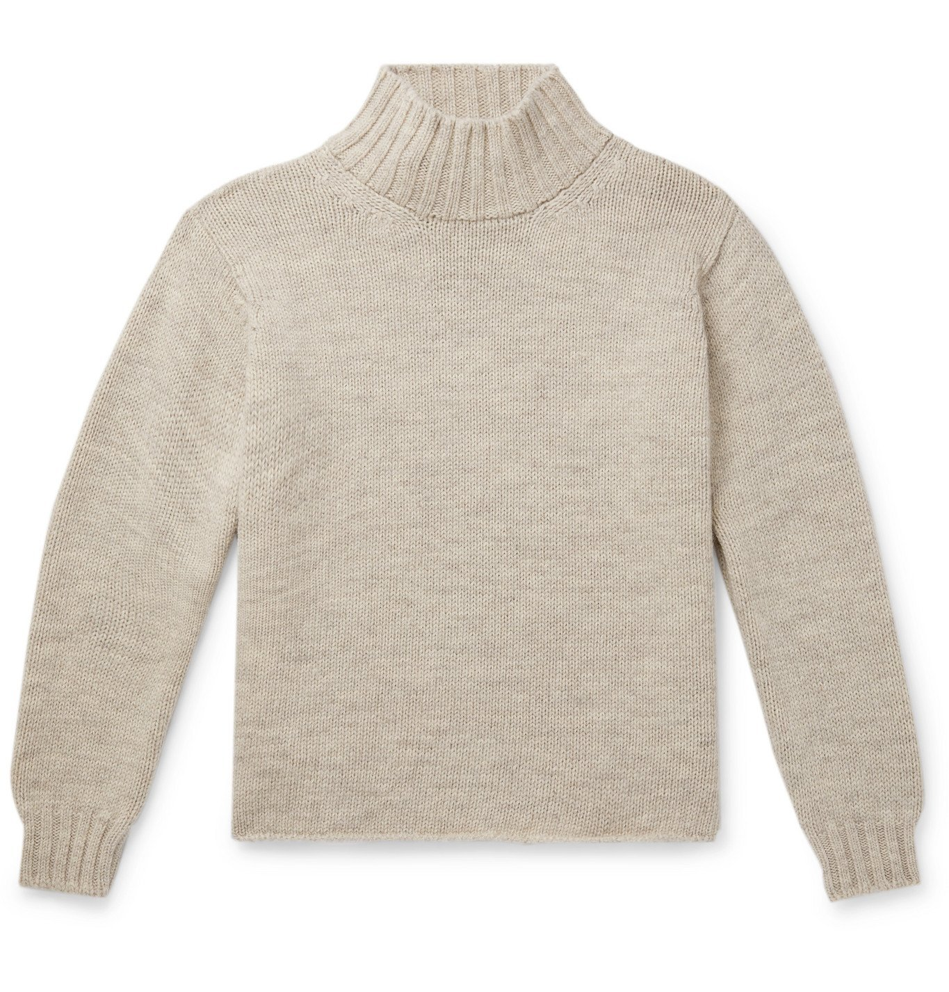 Margaret Howell - Wool Rollneck Sweater - Gray