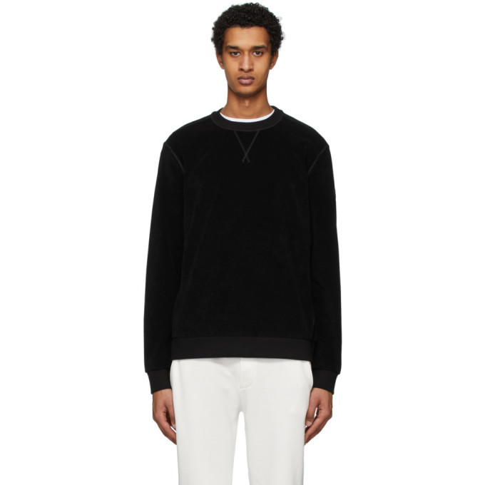 Photo: Moncler Black Cotton Sweatshirt