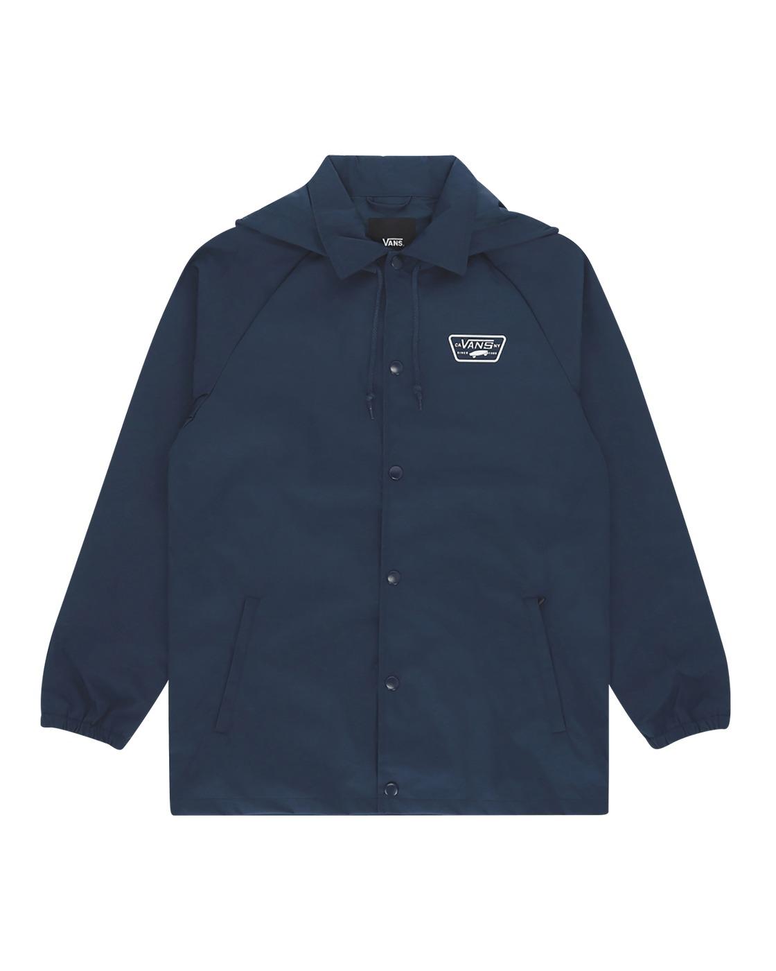 Photo: Vans Torrey Hooded Mte Jacket Dress Blue