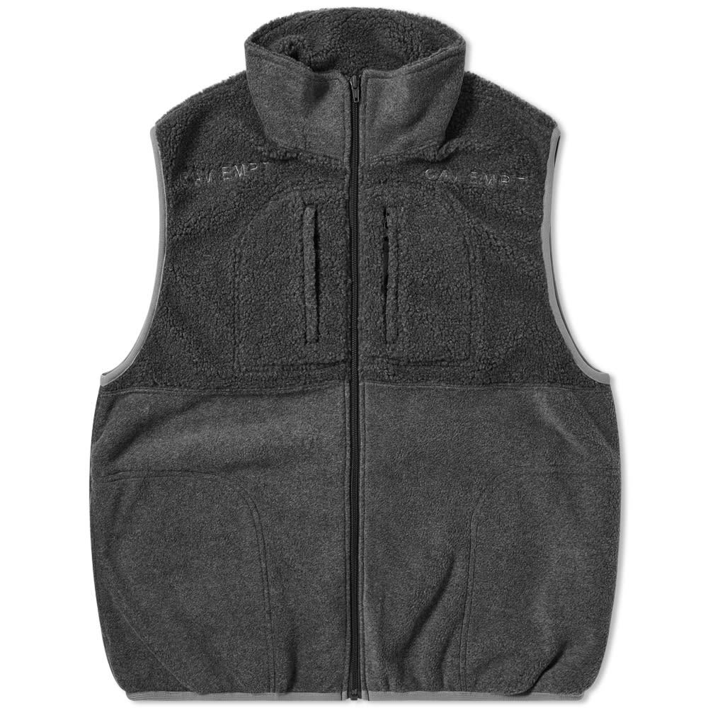 Photo: Cav Empt Fleece Zip Vest