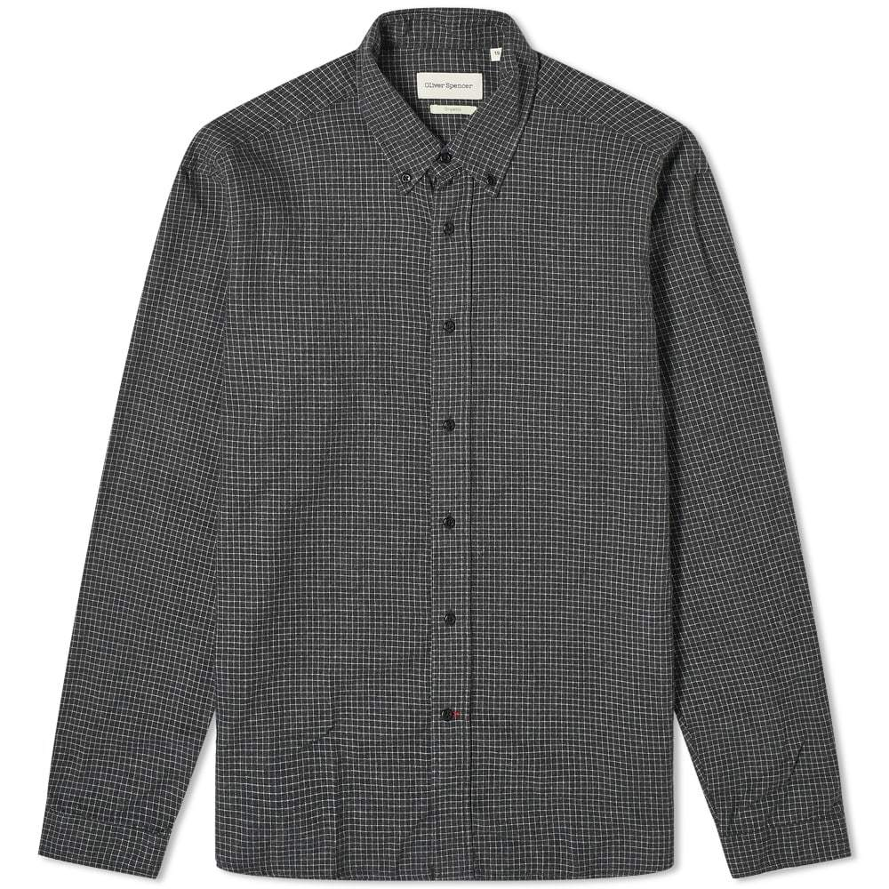 Photo: Oliver Spencer Brook Checked Button Down Shirt