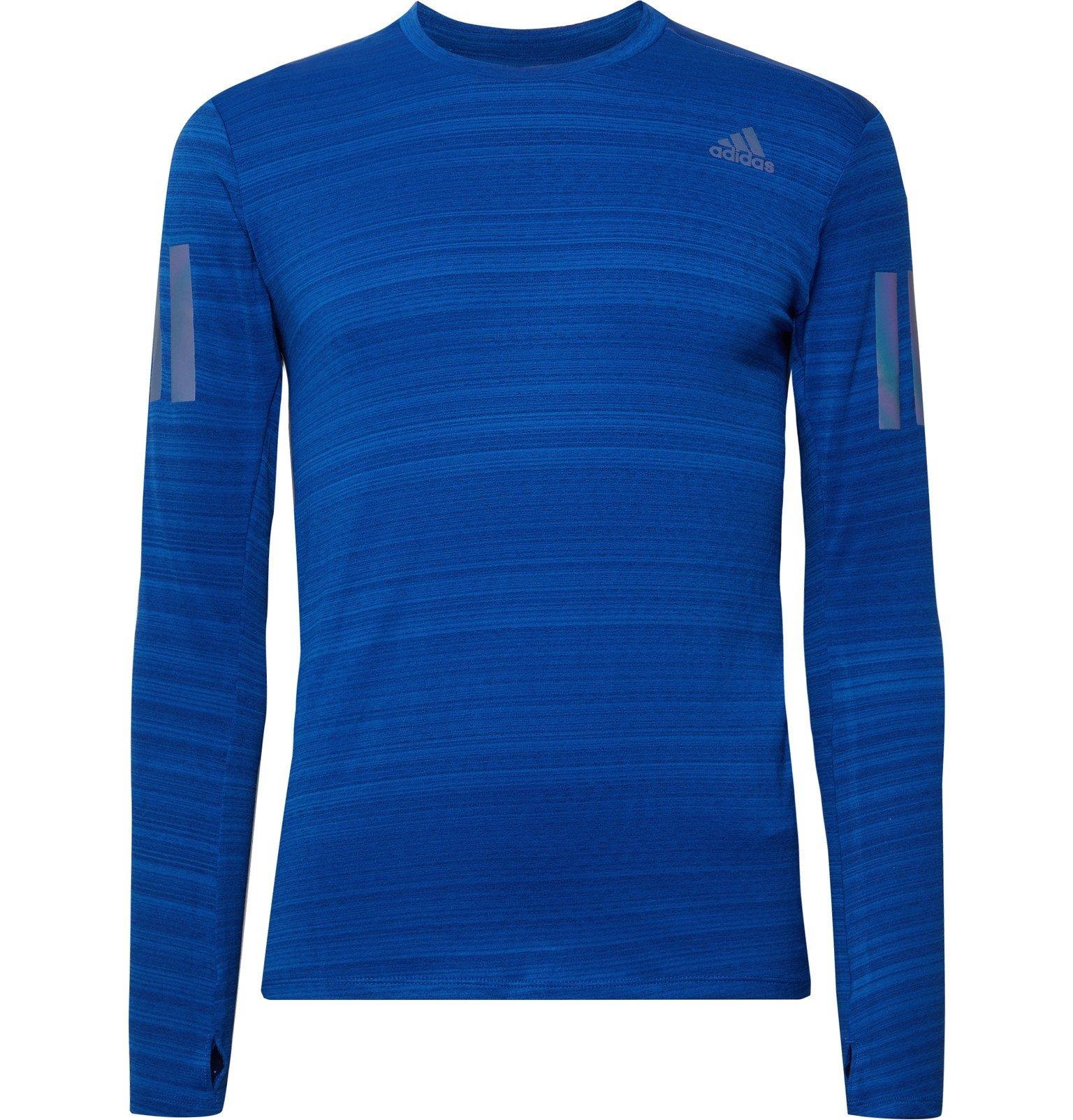 Photo: Adidas Sport - Rise Up N Run Climalite T-Shirt - Blue