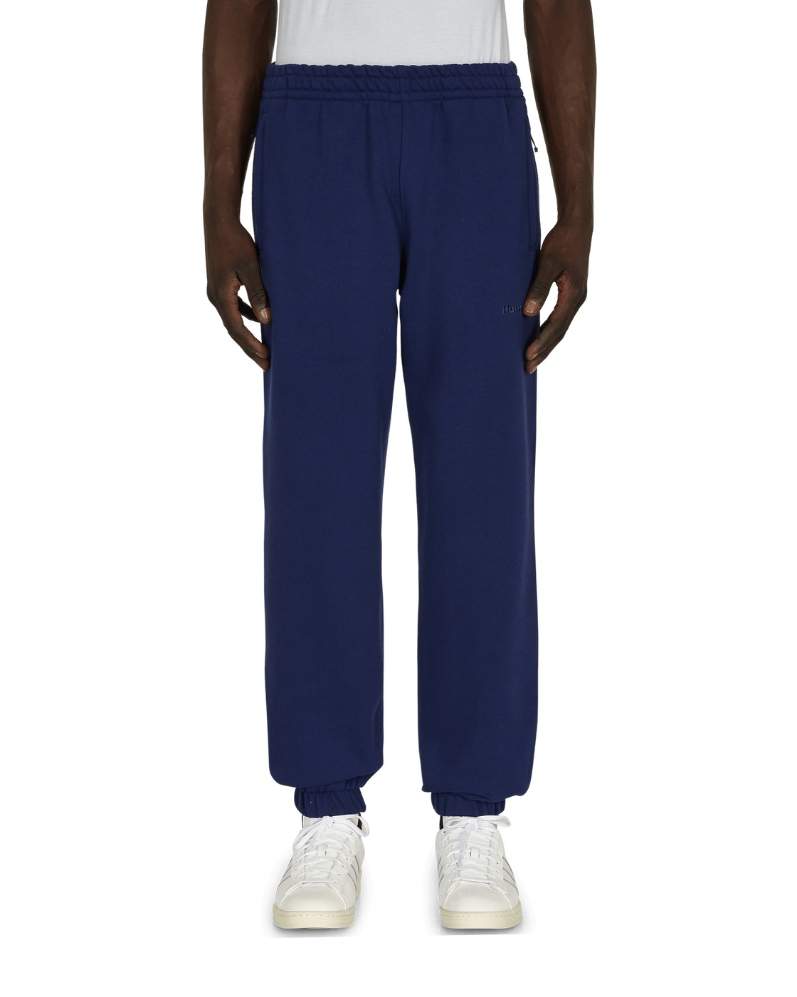 Photo: Adidas Originals Pharrell Williams Basics Sweatpants Night Sky