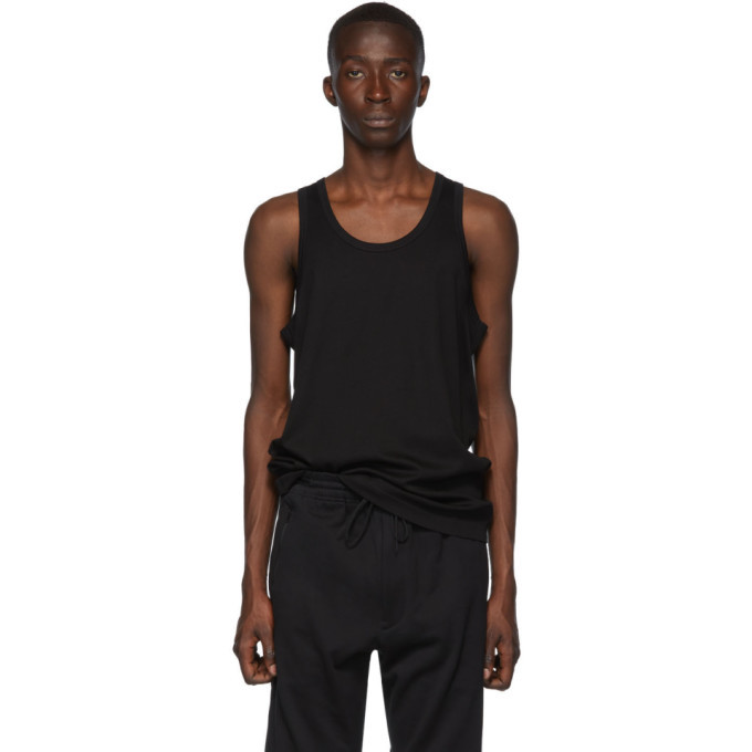 Photo: Y-3 Black Classic Tank Top