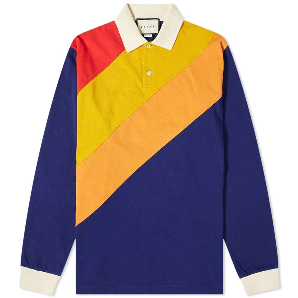 Photo: Gucci Long Sleeve Rugby Polo