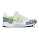 Asics White and Grey Gel-Lyte Sneakers
