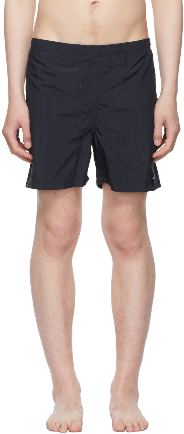 Photo: Noah Navy Core Swim Shorts