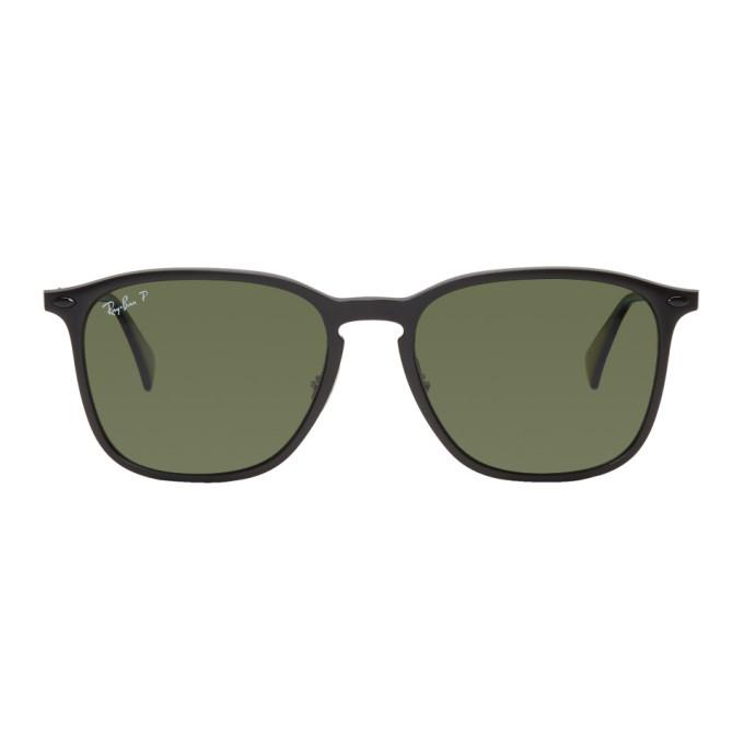 Photo: Ray-Ban Black Polarized RB8353 Sunglasses