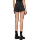 Ksubi Black Rise N High Shorts