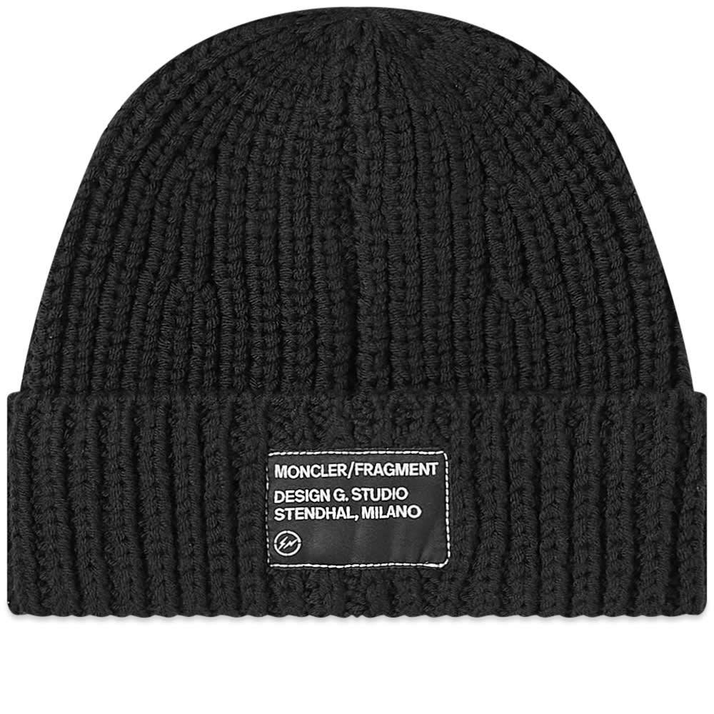 Photo: Moncler Genius - 7 Fragment Logo Patch Beanie