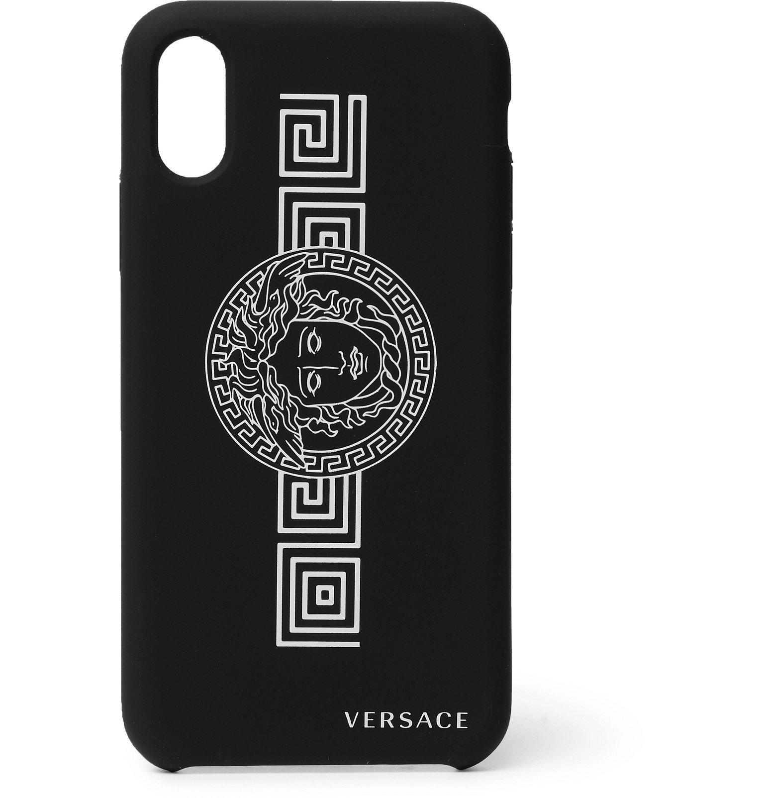 Versace - Logo-Print iPhone X and XS Case - Black