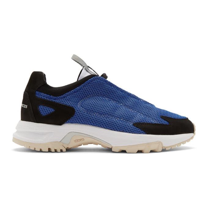 Photo: Filling Pieces Blue Ziro Sneakers