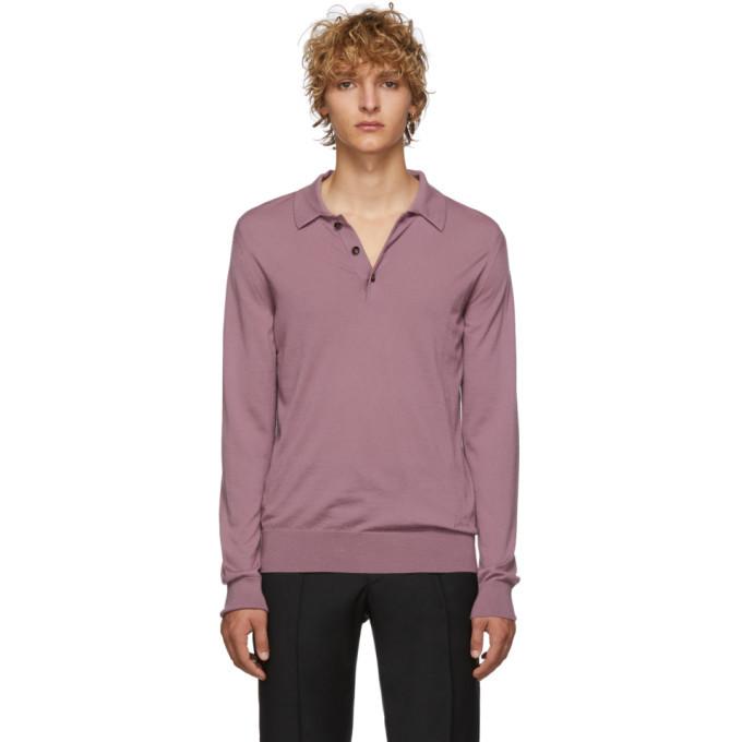 Photo: Brioni Pink Cashmere Polo