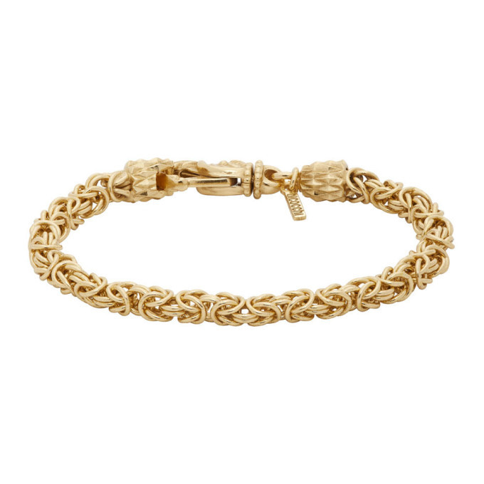 Photo: Emanuele Bicocchi Gold Byzantine Bracelet