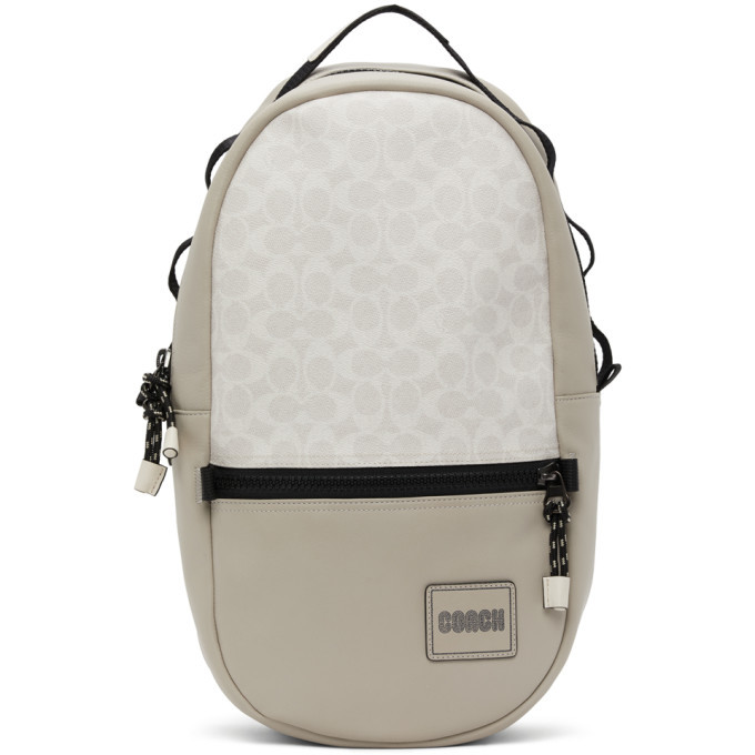 Photo: Coach 1941 Off-White Pacer Backpack