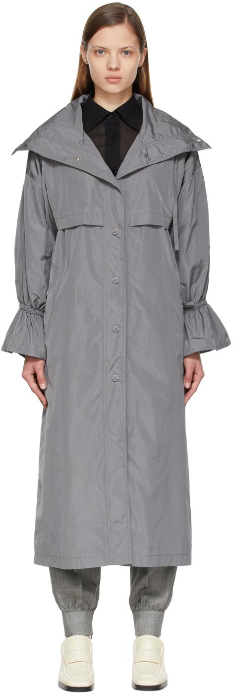 Max Mara Grey Faesite Coat