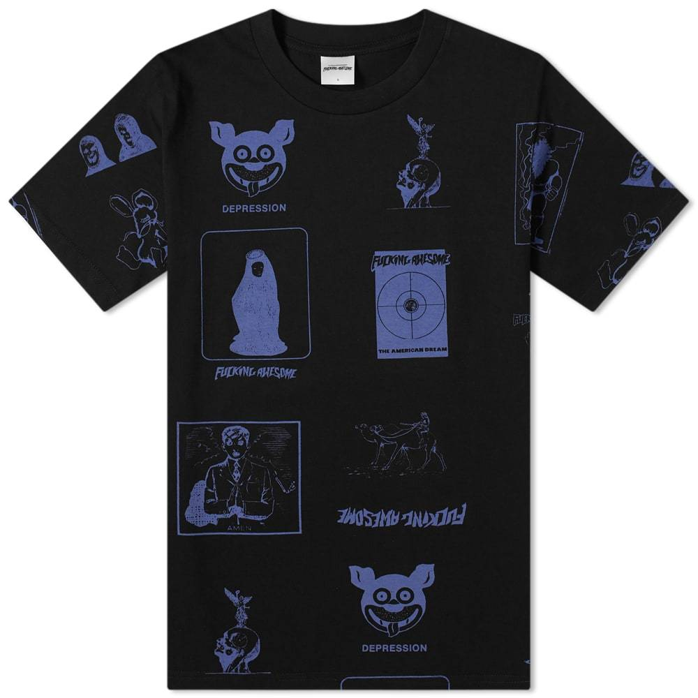 Photo: Fucking Awesome Cut Out 2 Tee