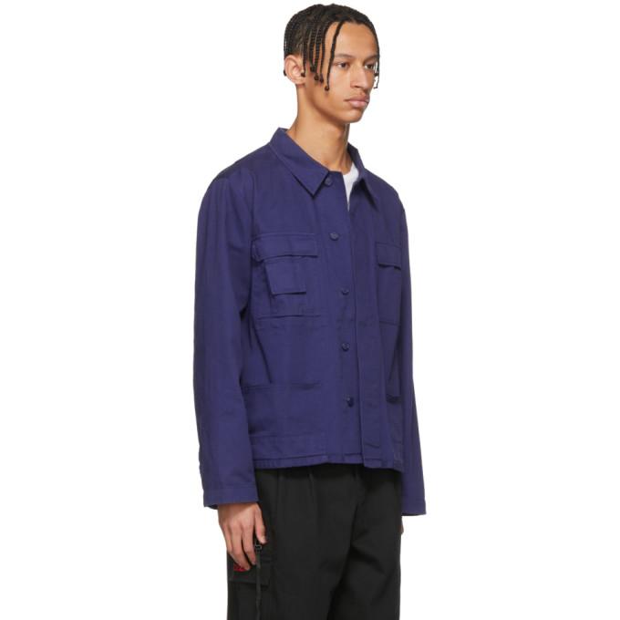 032c Blue WWB Workers Jacket