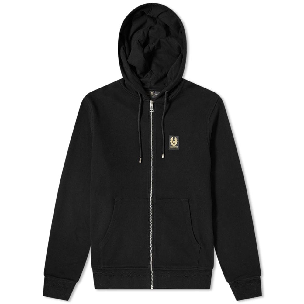 Photo: Belstaff Patch Logo Zip Hoody