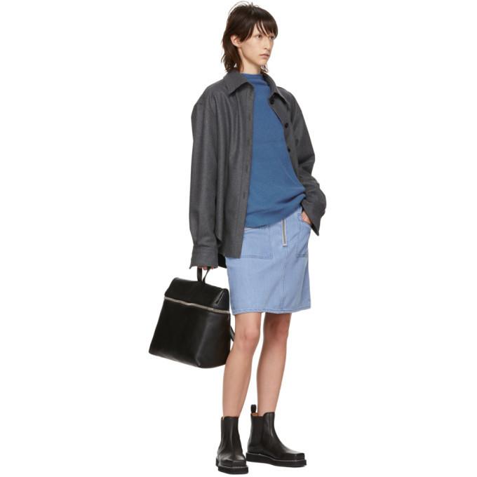Won Hundred Blue Denim Erica Miniskirt